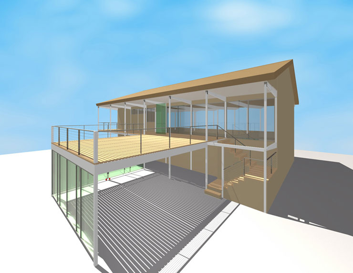 design vignette with new stair carport and decks urbanrock design design vignette with new stair carport and decks